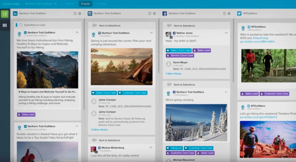 Plataforma Social Studio (Radian6)