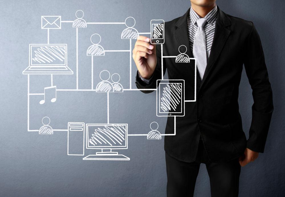 Blockchain en comunicación: transparencia y eficiencia.